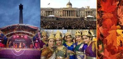 Diwali en Trafalgar Square