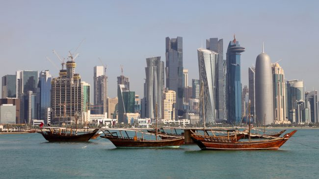 Doha: capital de Qatar