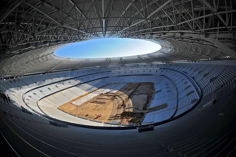 Donbass Arena Sede de la Eurocopa