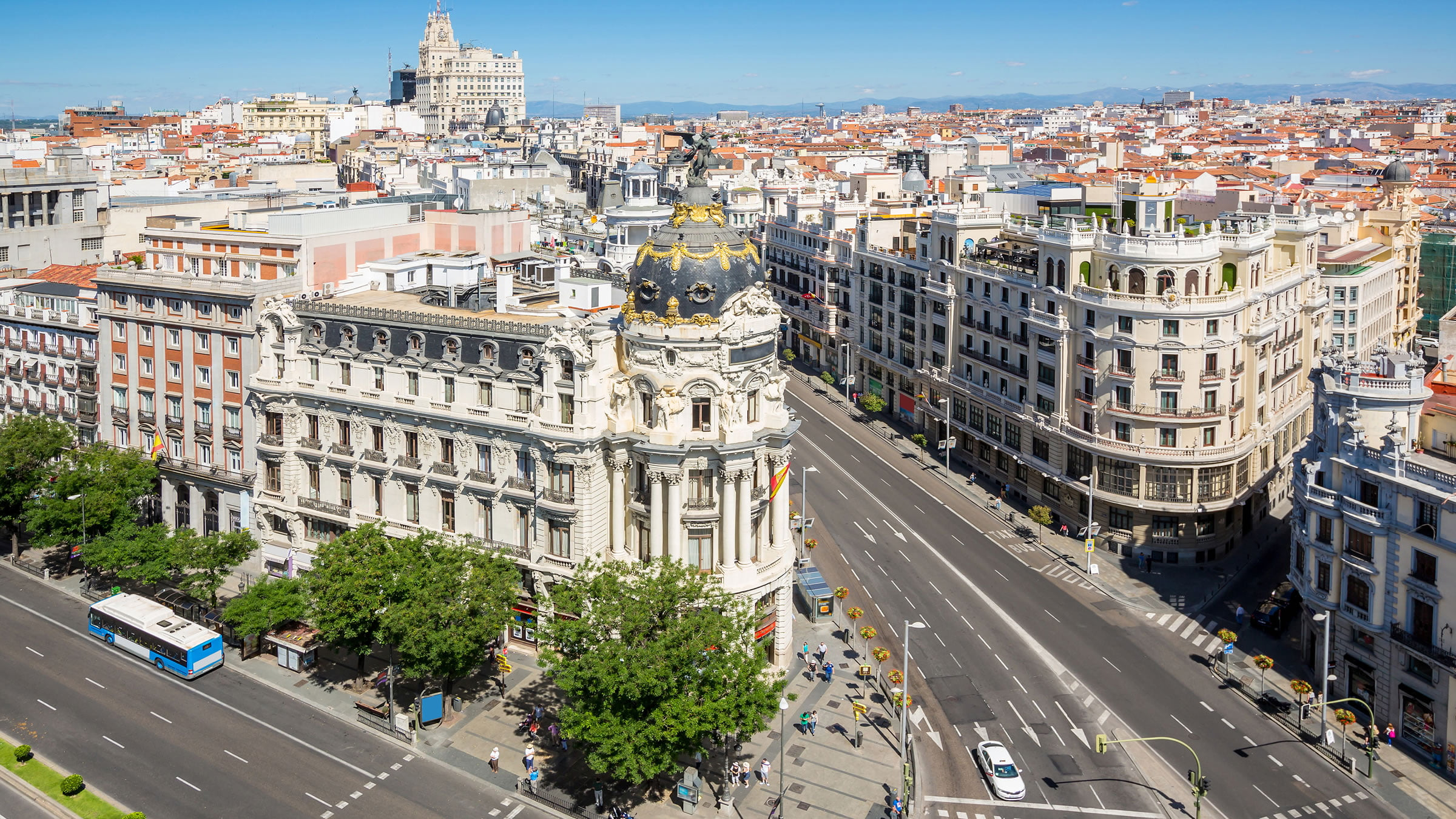 D nde hospedarse en la gran v a madrid - Viaje de novios espana ...