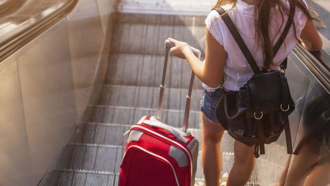 Dúas maletas de man con Vueling