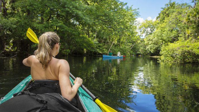 Ecoturismo activo: excursiones en kayak