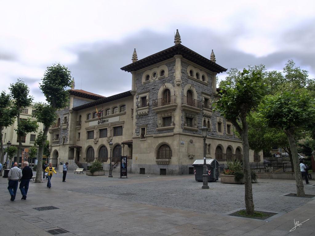 Edificio de Correos en Vitoria