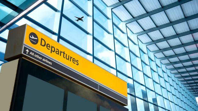 Edificio de Salidas del aeropuerto de Heathrow, Londres