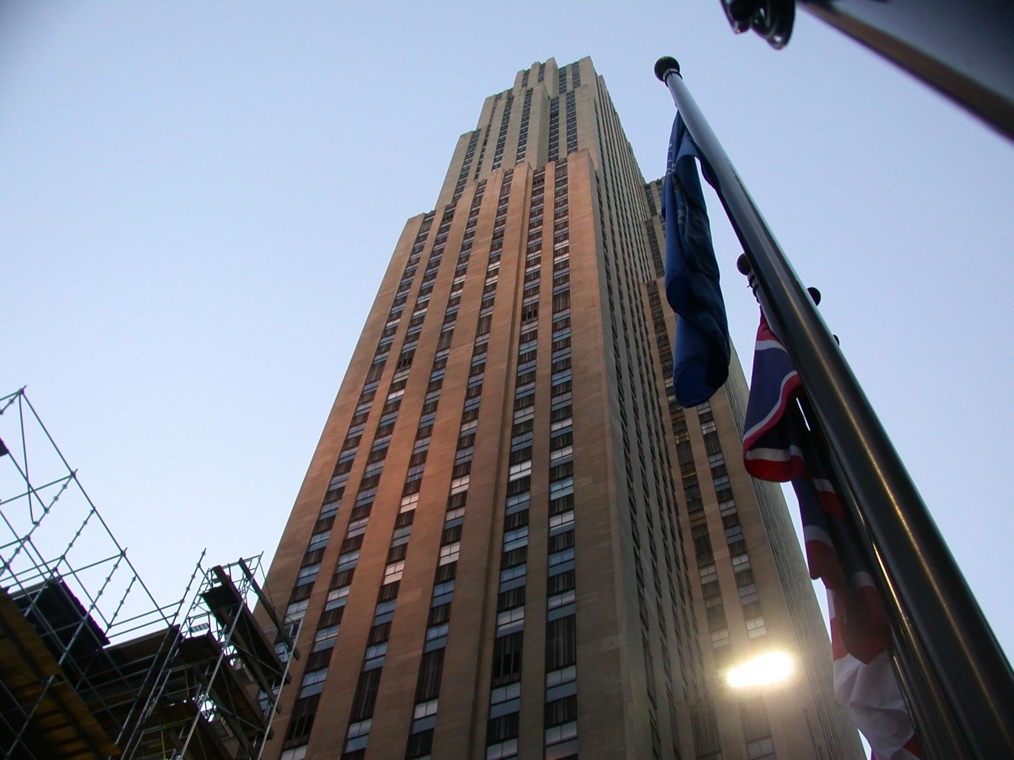 Edificio Ge En El Rockefeller Center