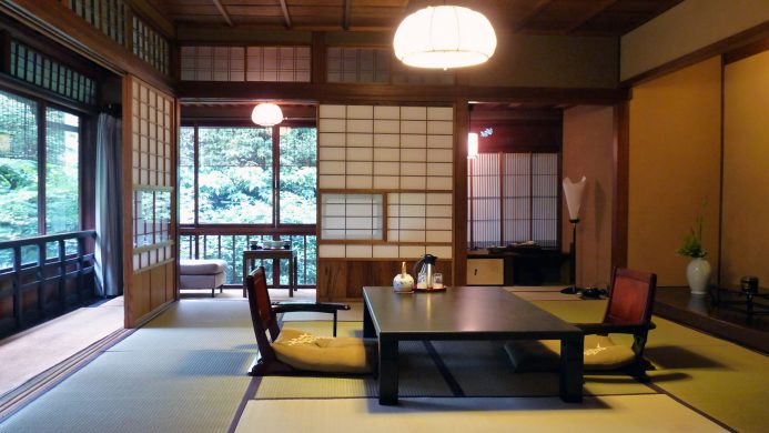 Example of a typical ryokan in Japan