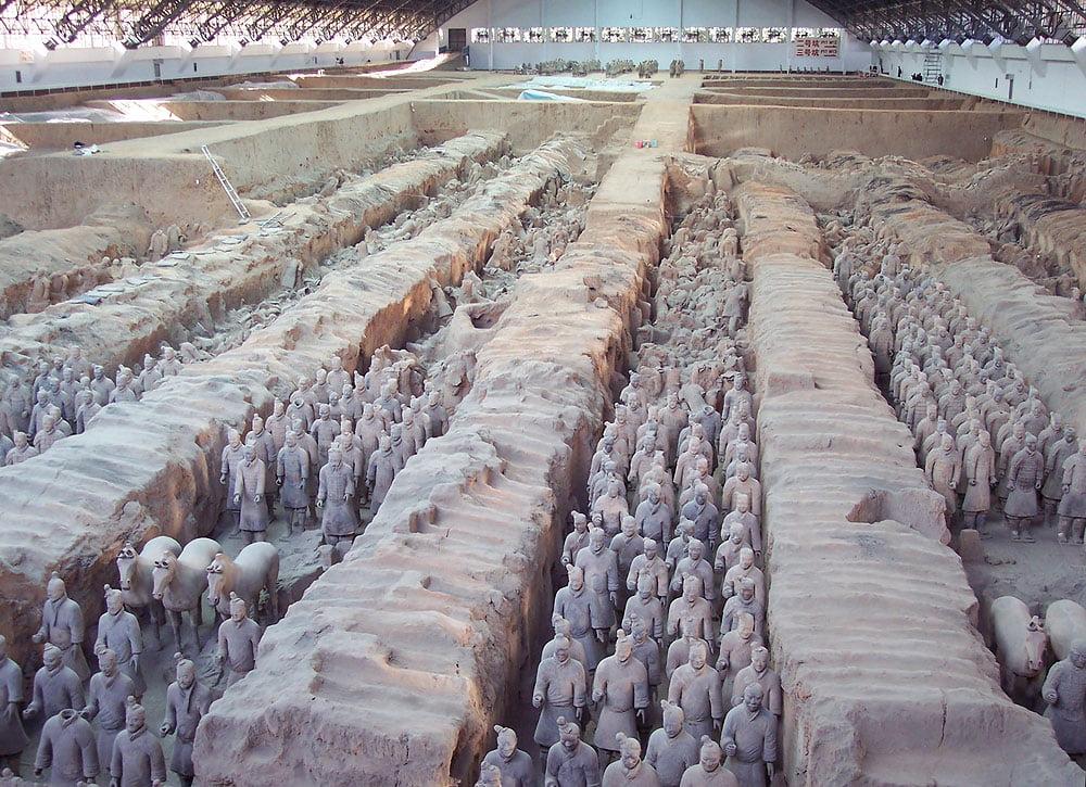 Ejército Terracota en China
