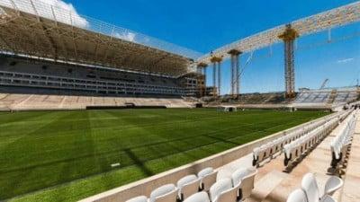 el Arena Corinthians brasil 2014