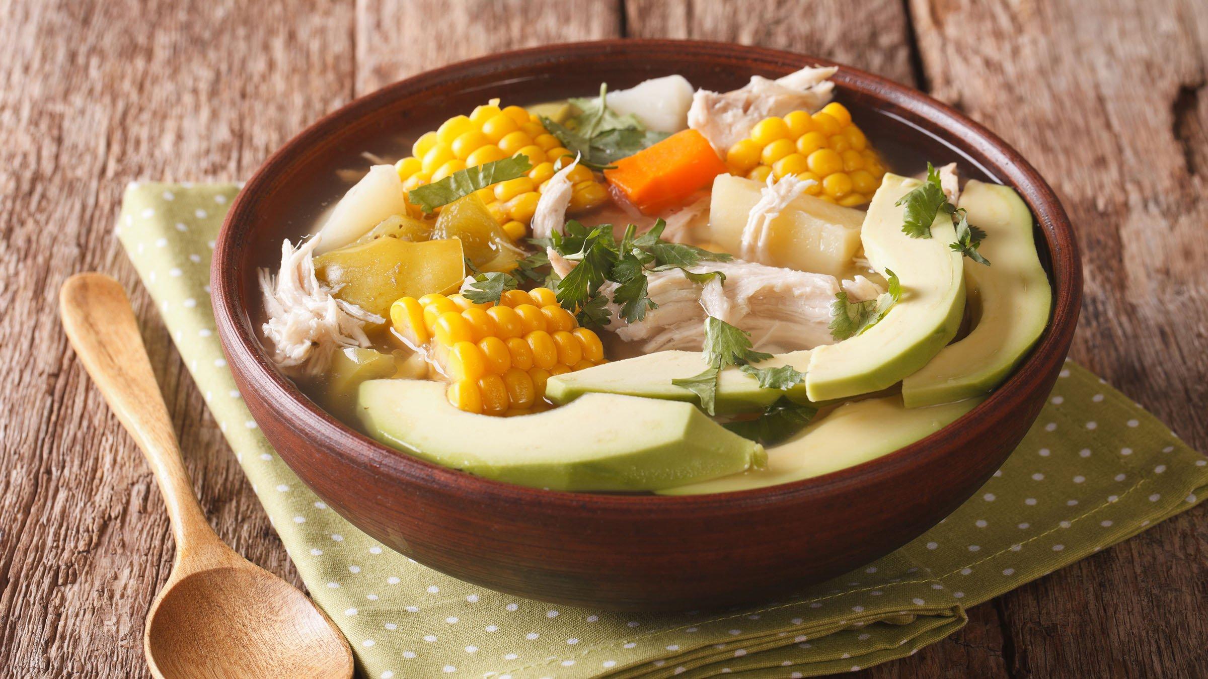 El ajiaco una sopa tradicional andina - Platos faciles de hacer ...