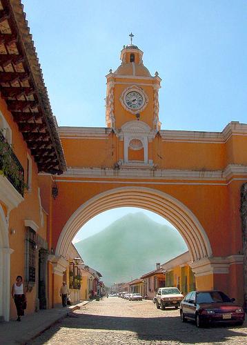 El Arco de La Antigua Guatemala.