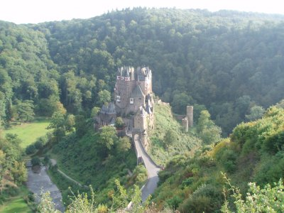 El Castillo de Burg Eltz, Alemania