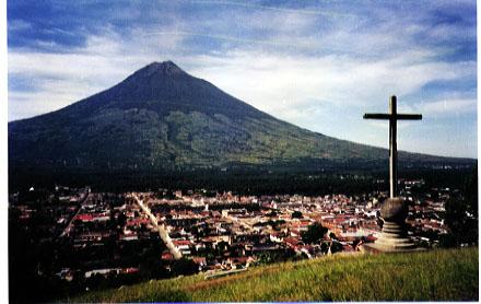 El Cerro de La Cruz, en La Antigua Guatemala