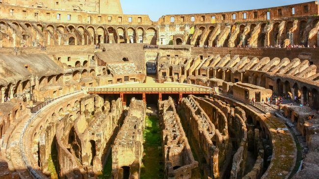 Das Kolosseum, Ikone von Rom