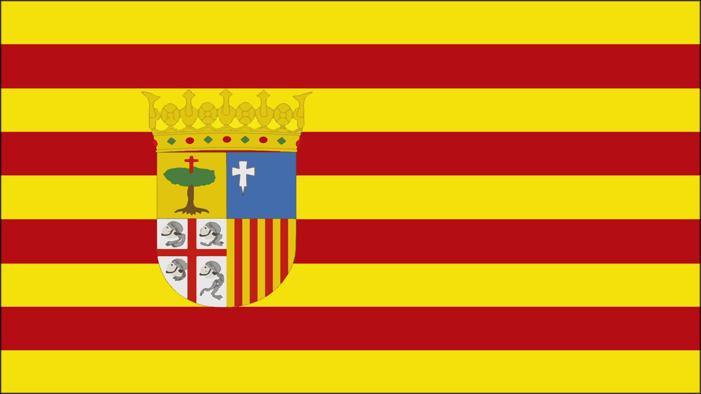Los colores de la bandera de Ceuta
