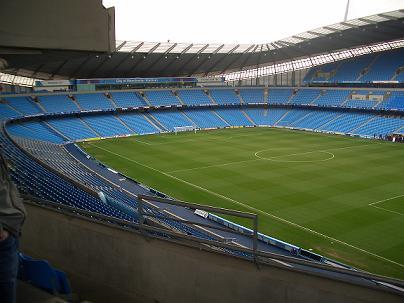 el Estadio ciudad de Manchester