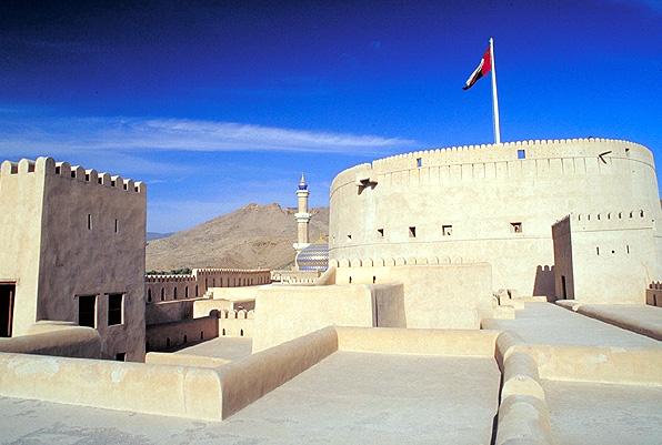 El fuerte de Nizwa, Oman
