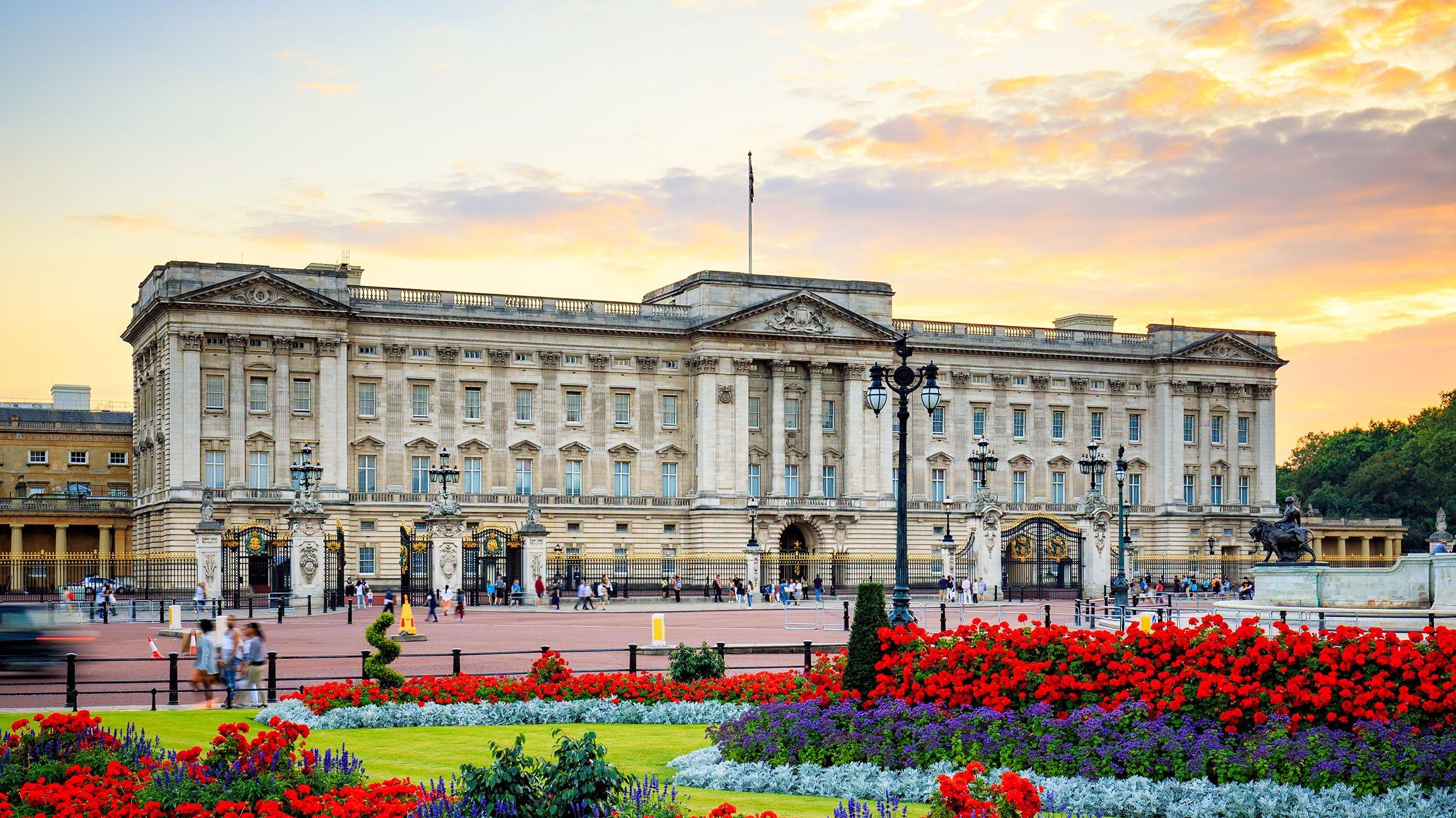El Gobierno de Inglaterra Palacio de Buckingham