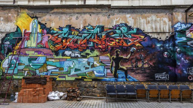 Graffiti: un elemento clave da cultura hip hop