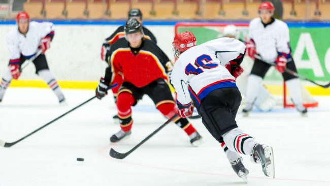El hockey sobre hielo: deporte nacional de Canadá