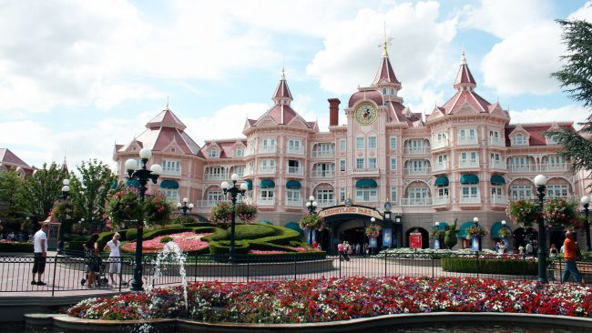 El hotel de Disneyland Paris