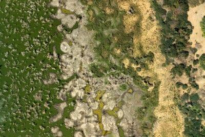 el lago Chad y sus cambios en los niveles de agua