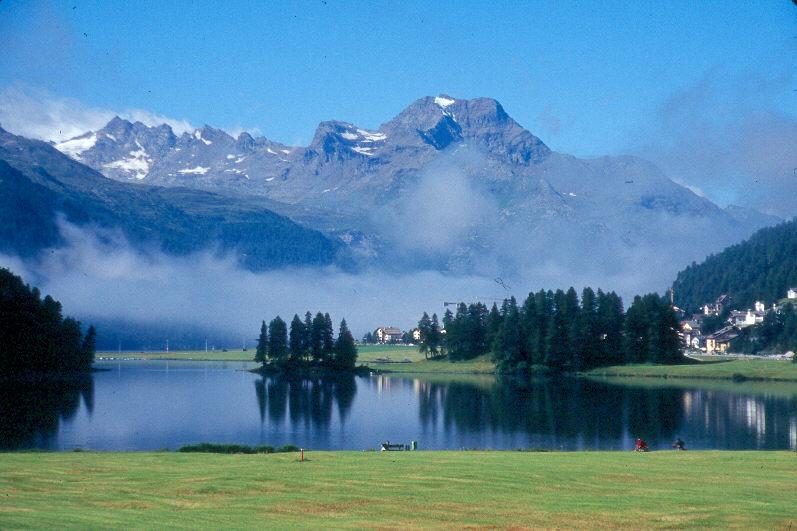 El Lago de St. Moritz