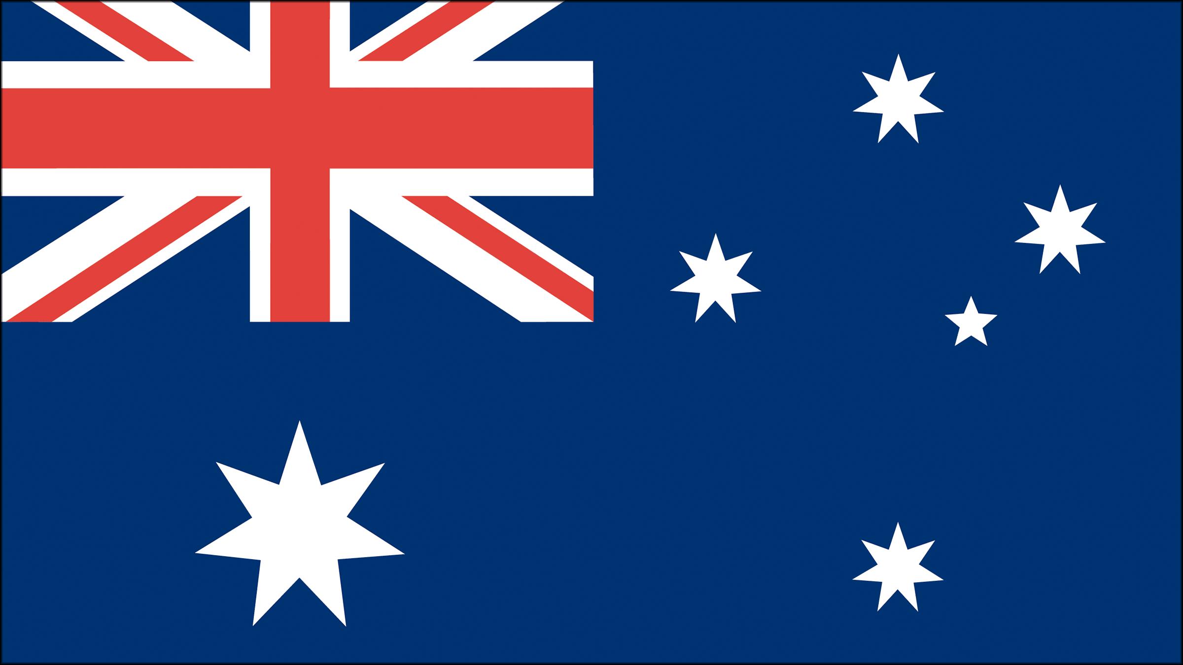Resultado de imagen de bandera australia