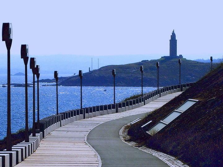El Paseo Marítimo de A Coruña