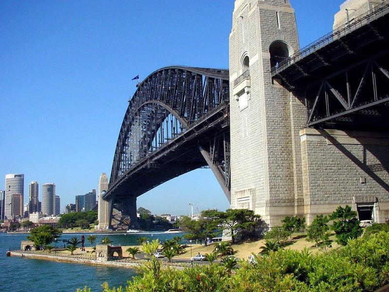 El Puente Harbour Bridge en Sidney