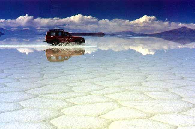 Fotografías del Salar de Uyuni, Viajes por Perú