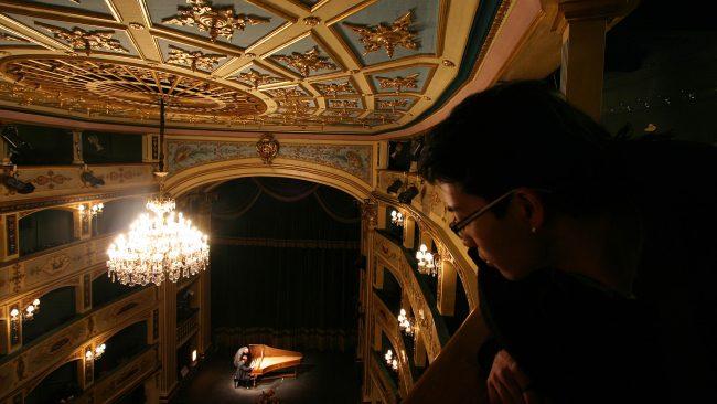 El Teatro Manoel de La Valeta, Malta