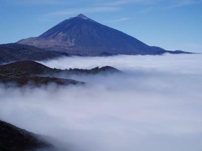 El Teide y el mar de nubes