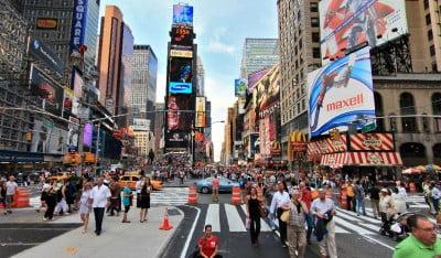 El Times Square de Nueva York