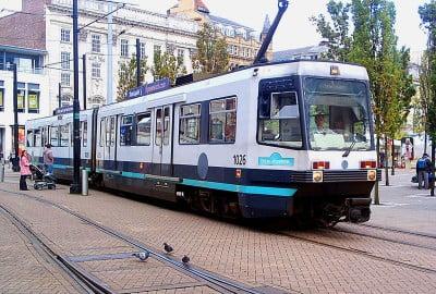 El tranvía Metrolink de Manchester