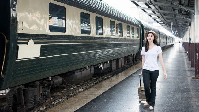El tren como medio de transporte para nuestro viaje