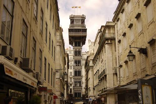 Elevador Santa Justa de Lisboa