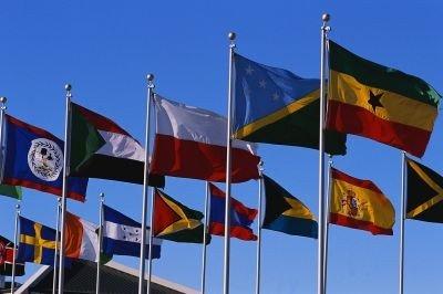 Embajada costa de marfil banderas