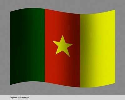 Embajada de Camerún bandera de la República da Camerún