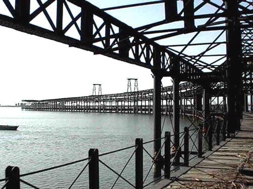 Embarcadero de minerales de Huelva