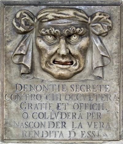 En el Palacio Ducal de Venecia