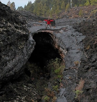 Entrada a la Cueva de Todoque