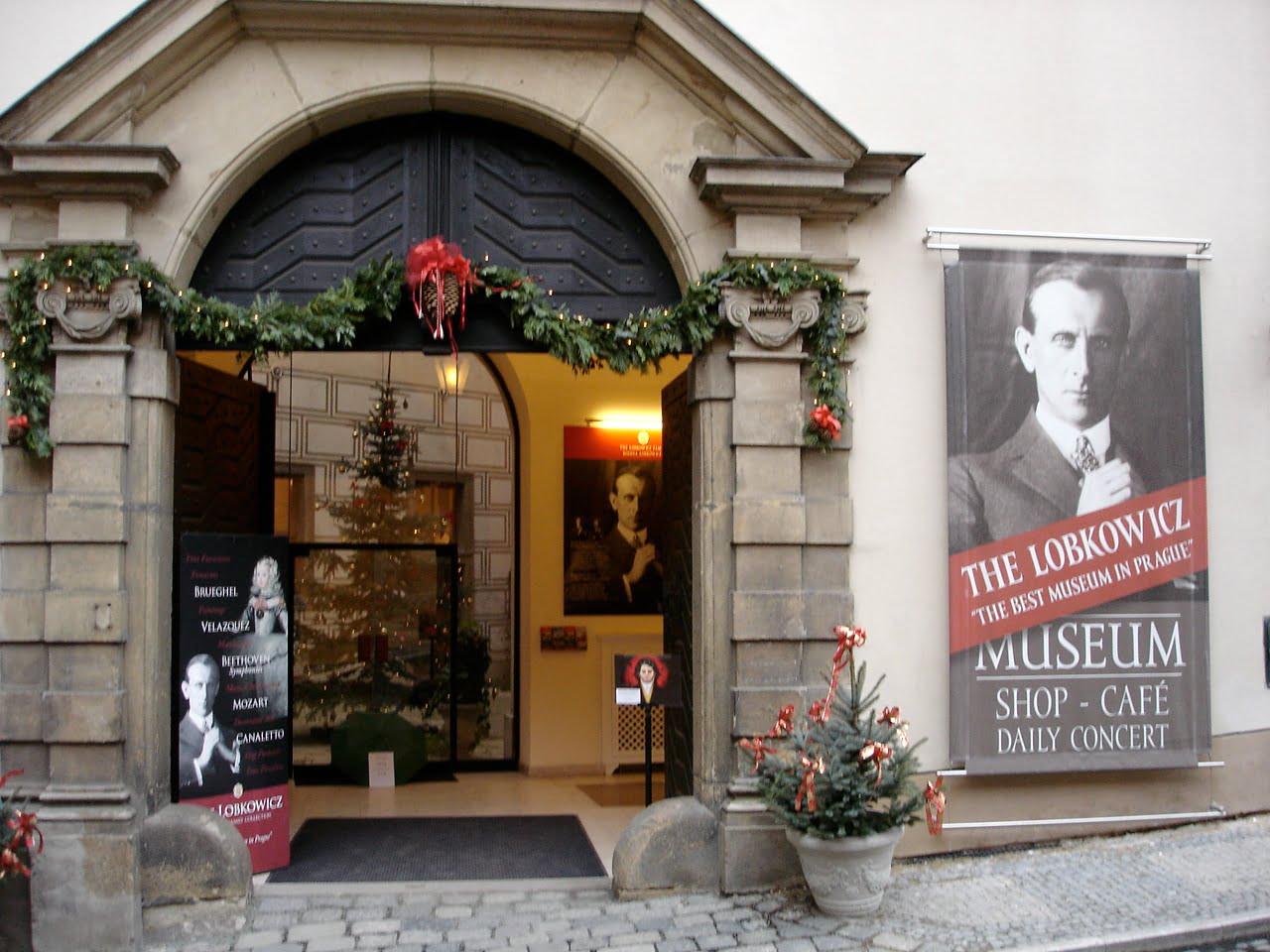 Entrada al Palacio Lobkowicz