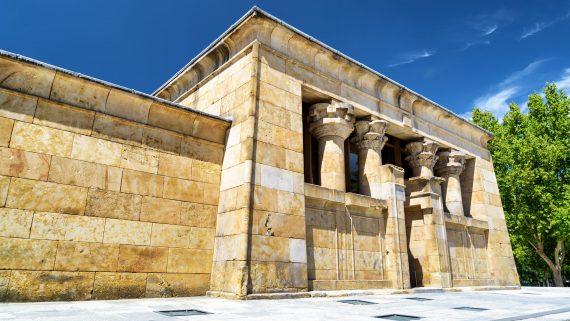 Entrada principal al Templo de Debod