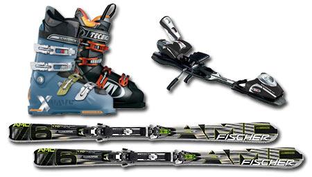 Equipo para el Esquí Alpino