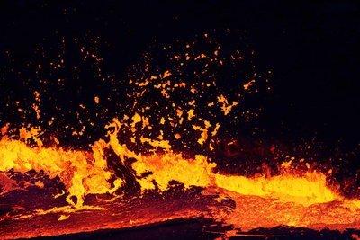 erupcion volcánica