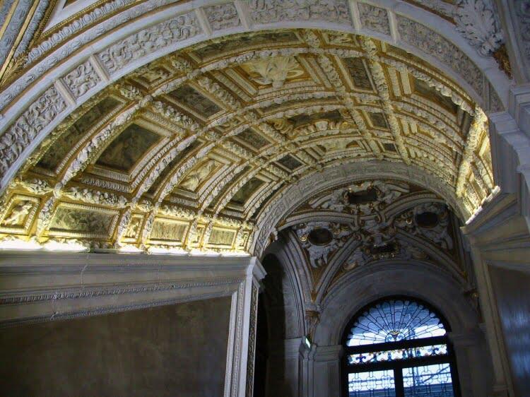 Escalera de Oro en el Palacio Ducal
