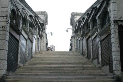 Escaleras del Puente de Rialto