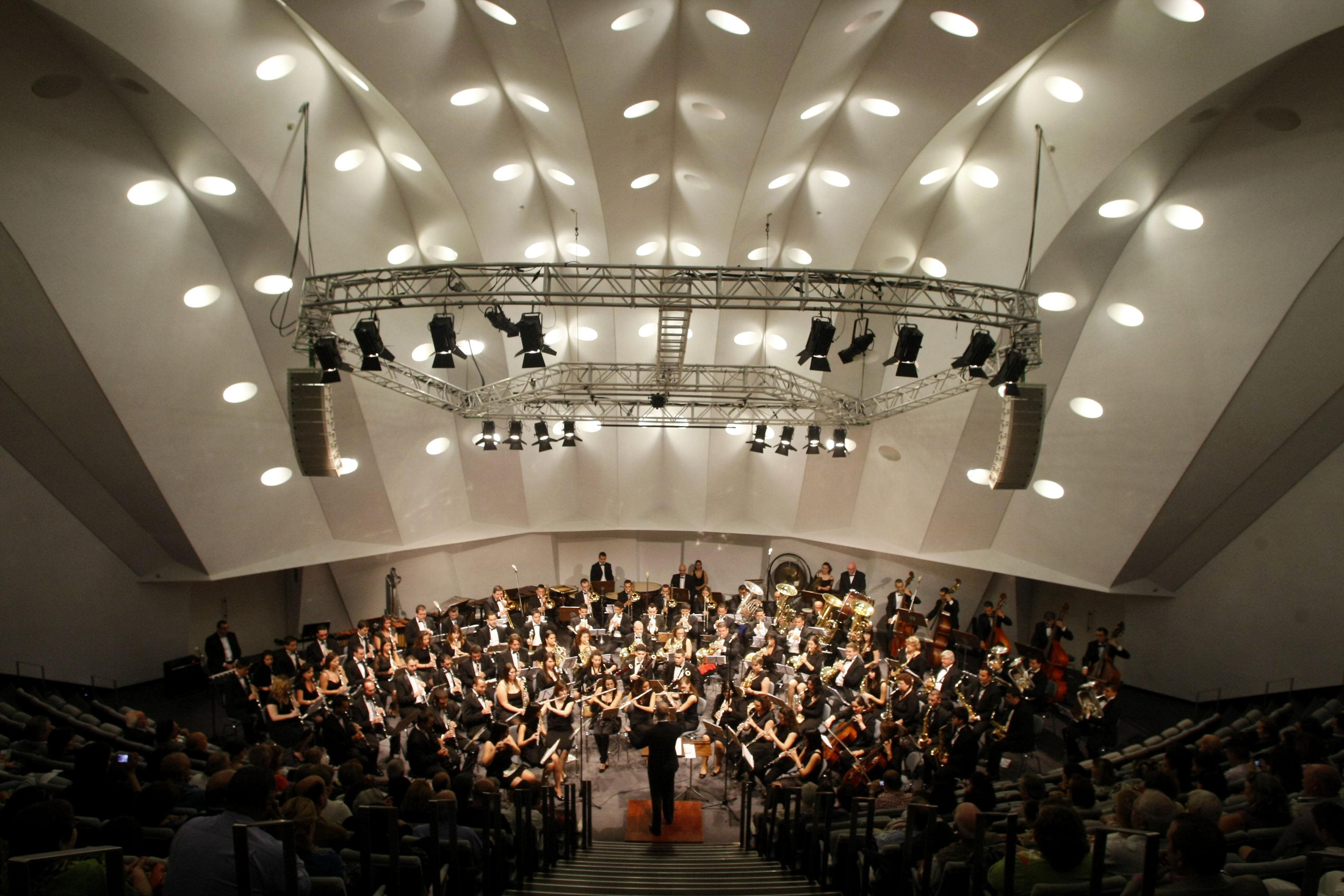 Escenario del Auditorio