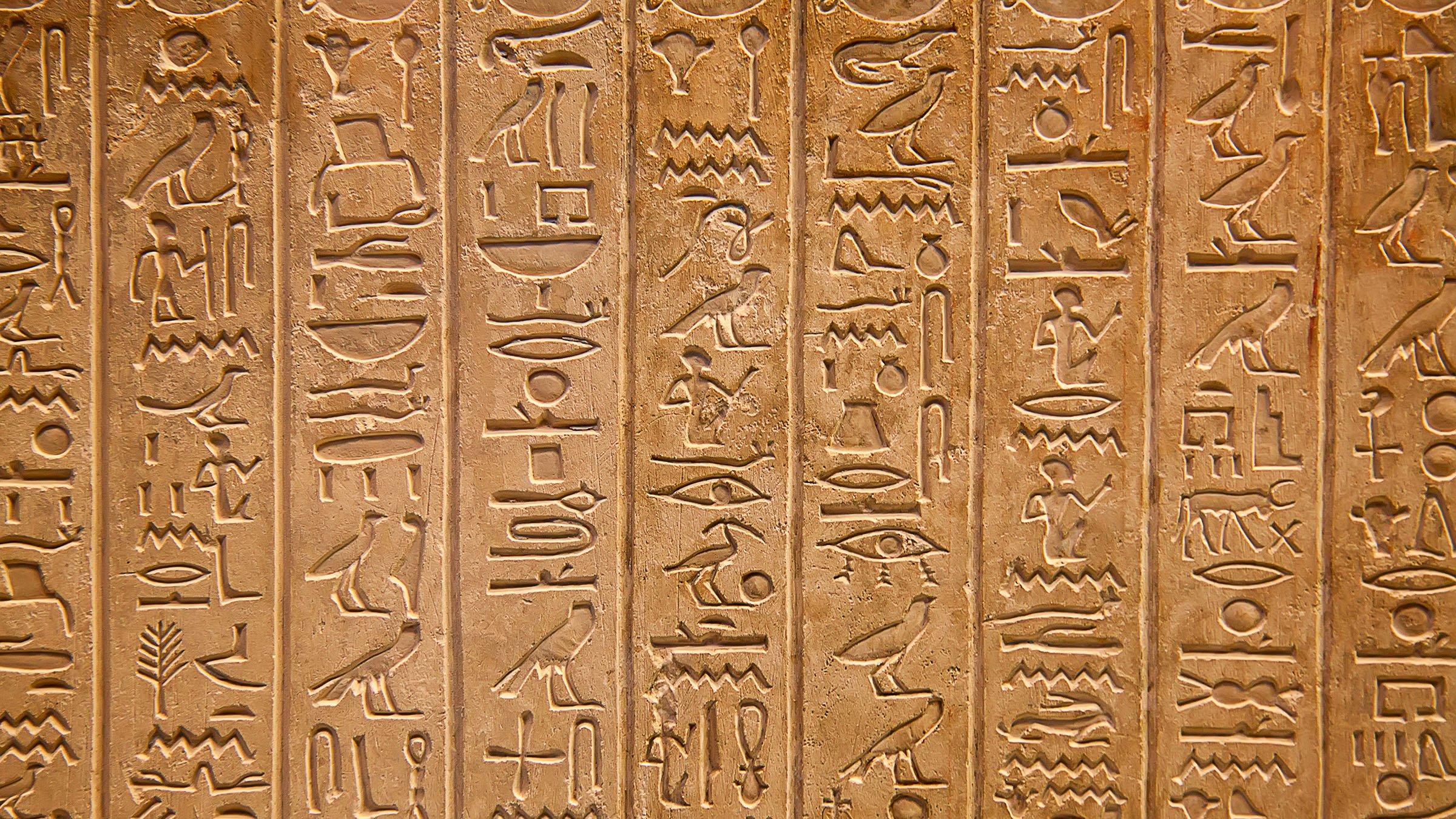La Escritura Y Los Jeroglíficos Egipcios Significado Y
