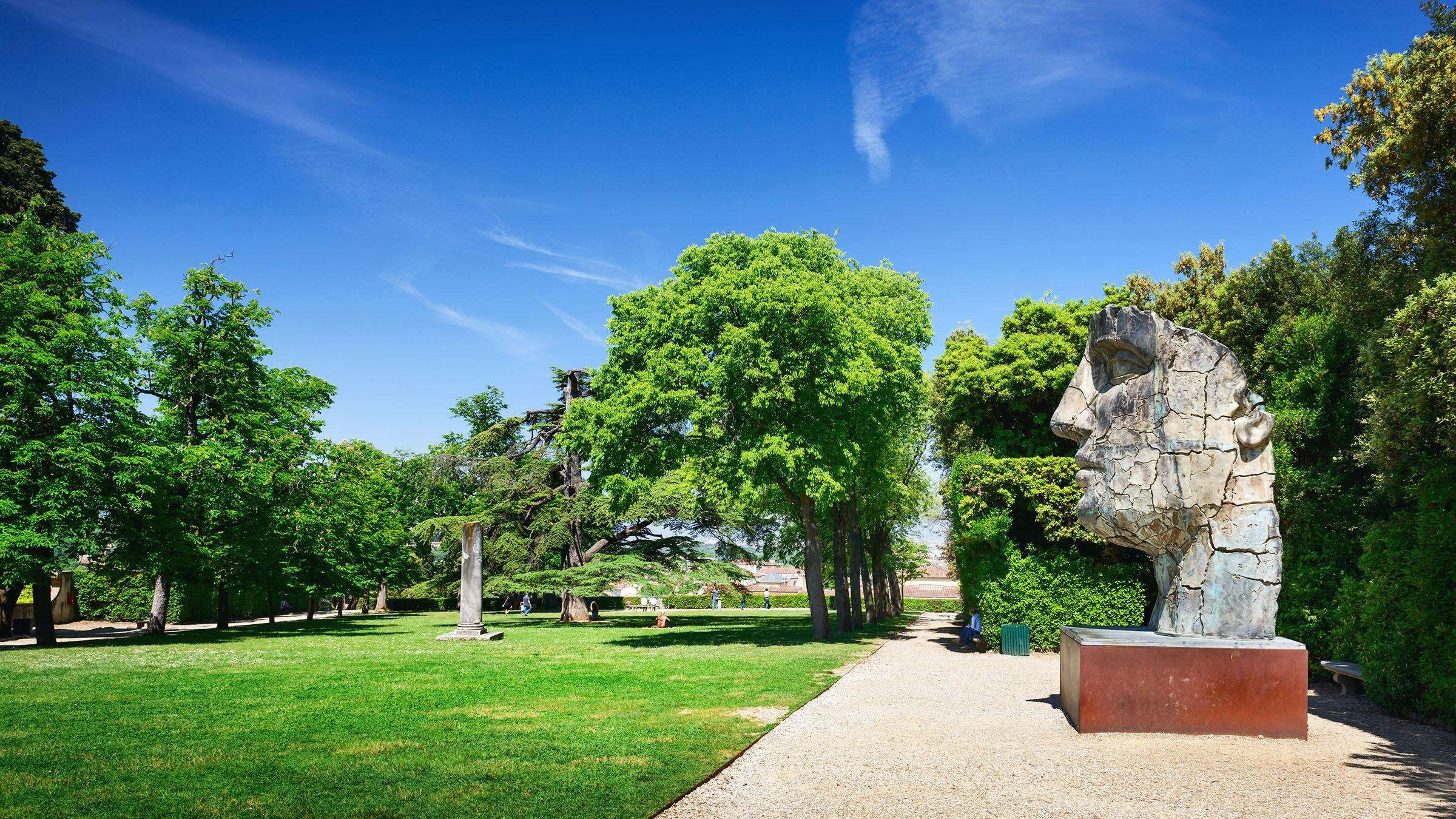 Esculturas en las avenidas for Esculturas en jardines